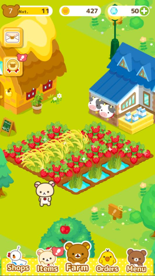 Place more fields to grow more crops