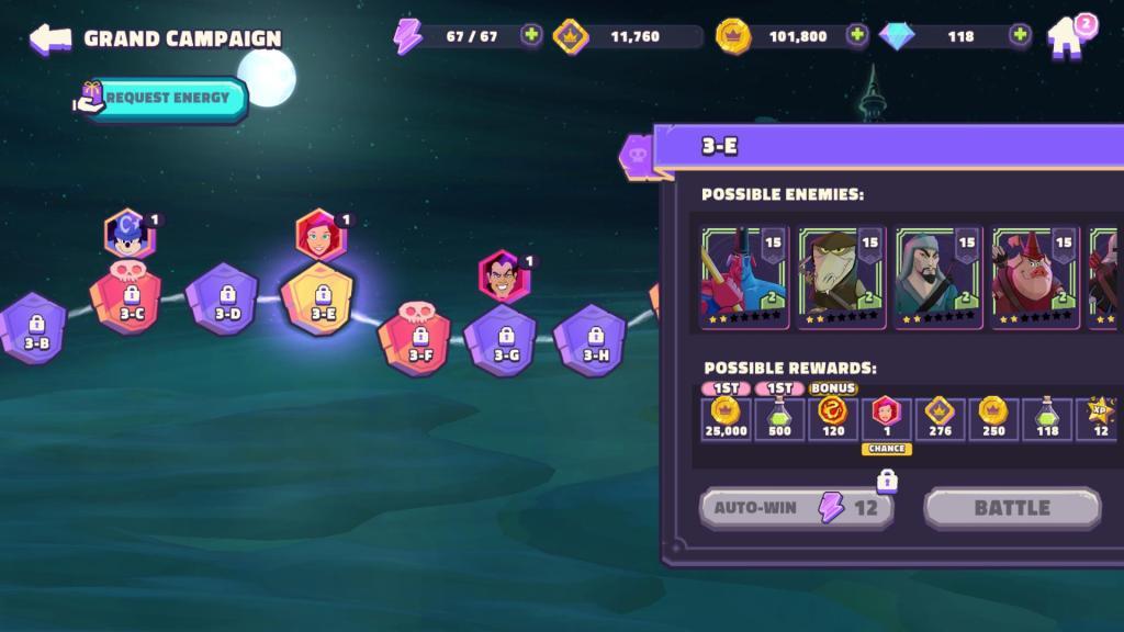A campaign battle map.