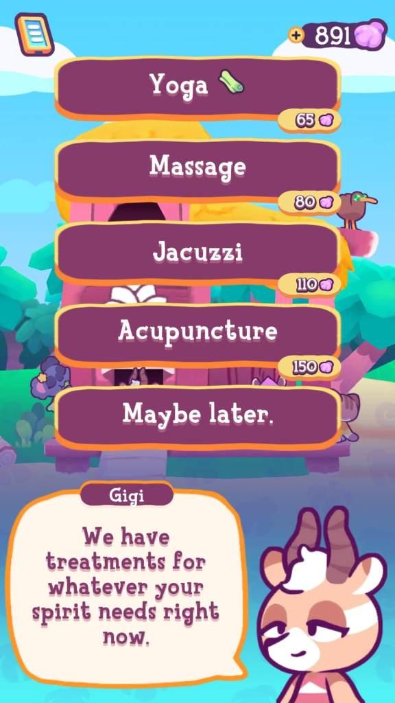 Various treatments at Gigi's Spa.