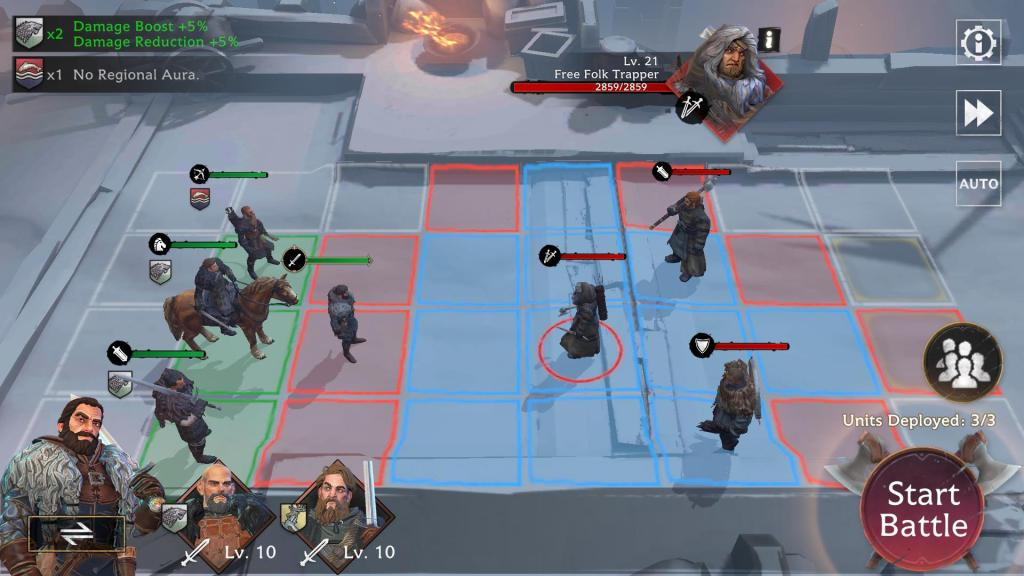 Check mobility of an enemy unit