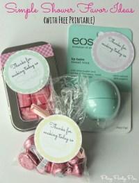 Baby Shower Favor Ideas For Girl | wblqual.com