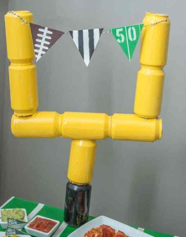 DIY Football Party Decorations Ideas