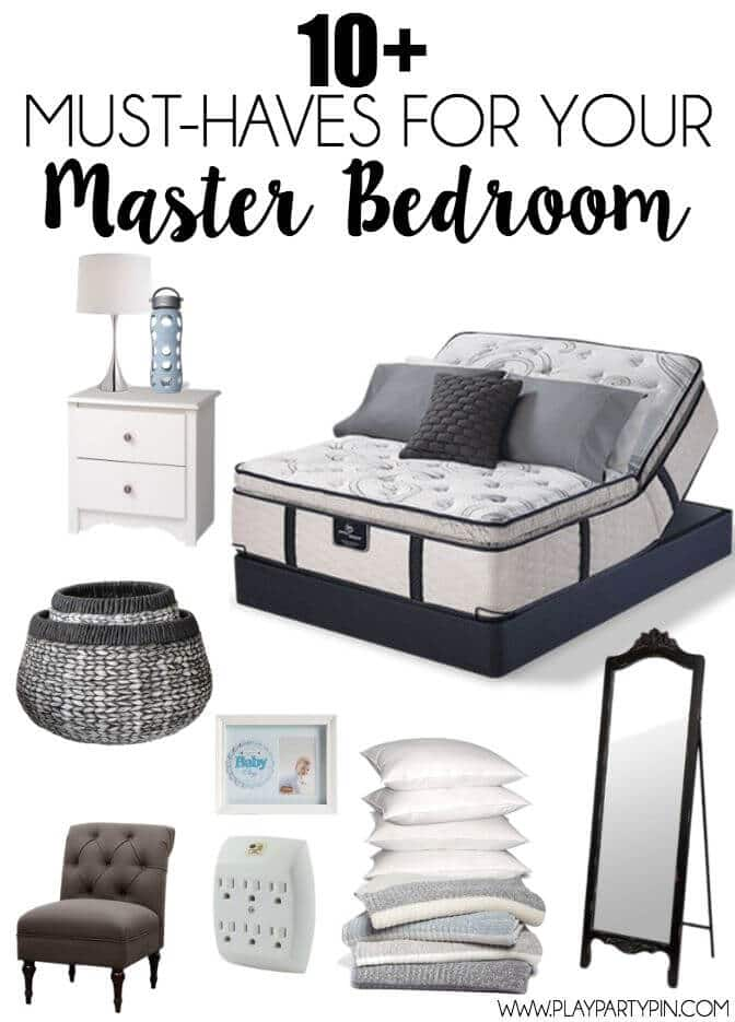 MustHaves for the Perfect Master Bedroom