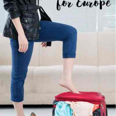 The Perfect Packing List for Europe and Beyond