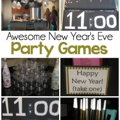 Simple New Year's Eve Party Ideas & Countdown Boxes