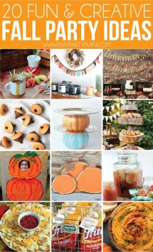Amazing Fall Party Ideas 'll In Love With