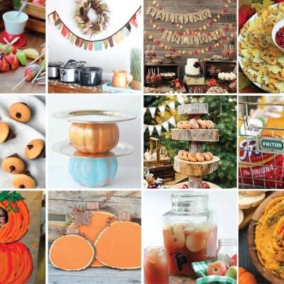 20 Fun and Creative Fall Party Ideas