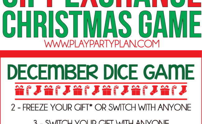 11 Fun Creative Gift Exchange Games You Have To Try