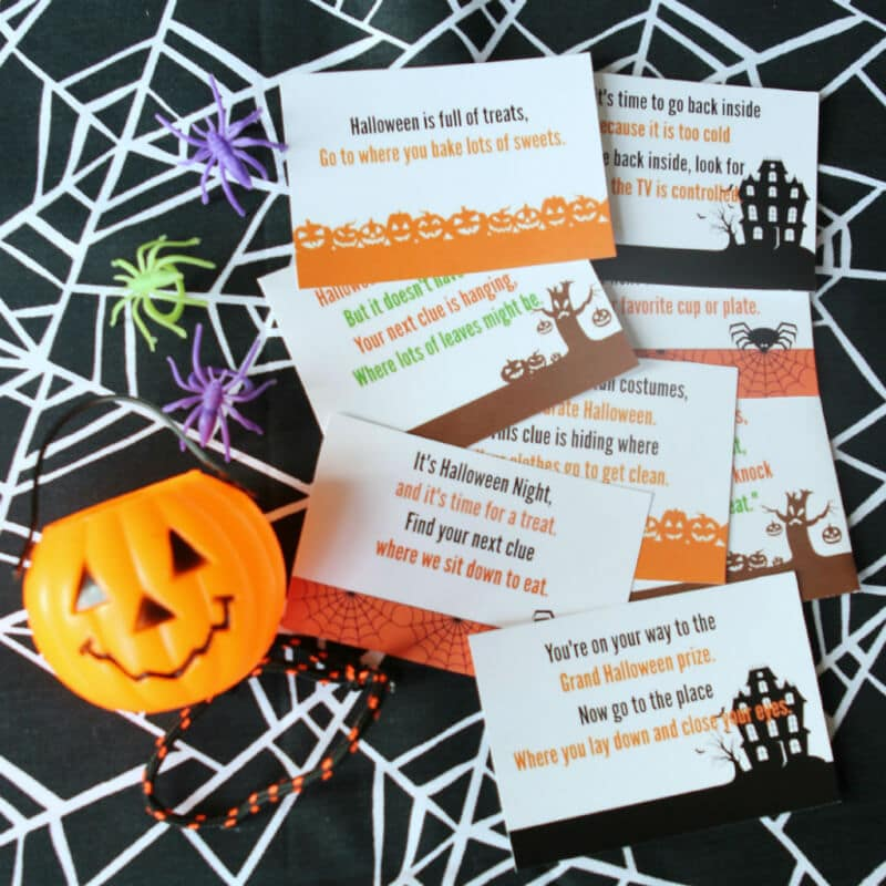 Free Printable Halloween Scavenger Hunt That S Perfect For Kids