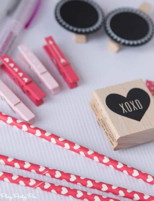 Valentine's Day party ideas using fun products from Target One Spot section