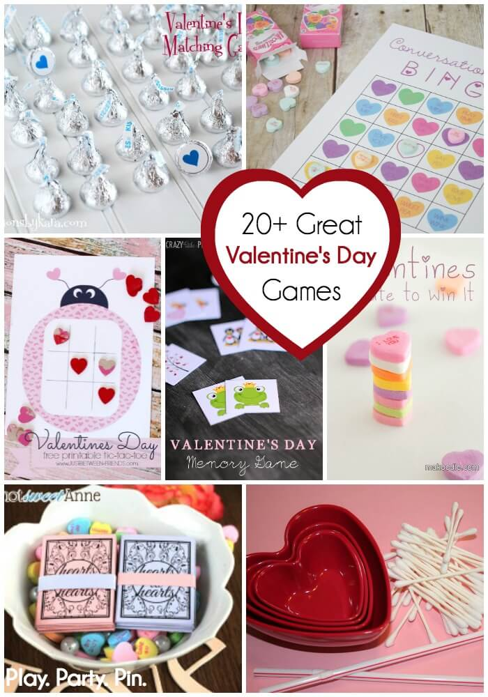 20 Valentines Day Games