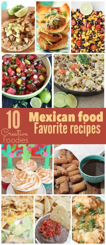 10 great Mexican food recipes that are perfect for Cinco de Mayo!