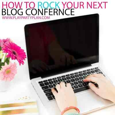 8 Tips to Rock A Blog Conference