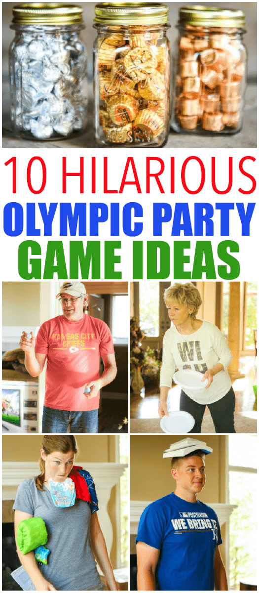 10 hilarious olympic party