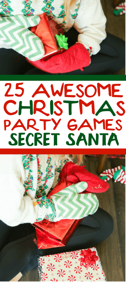 25 hilarious christmas games