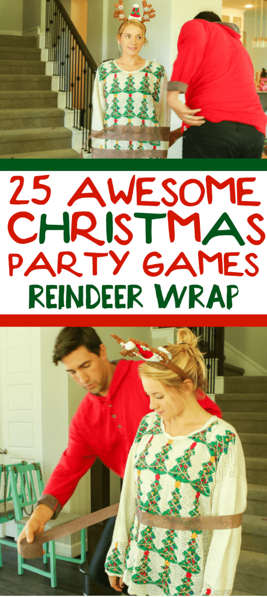 25 hilarious christmas games
