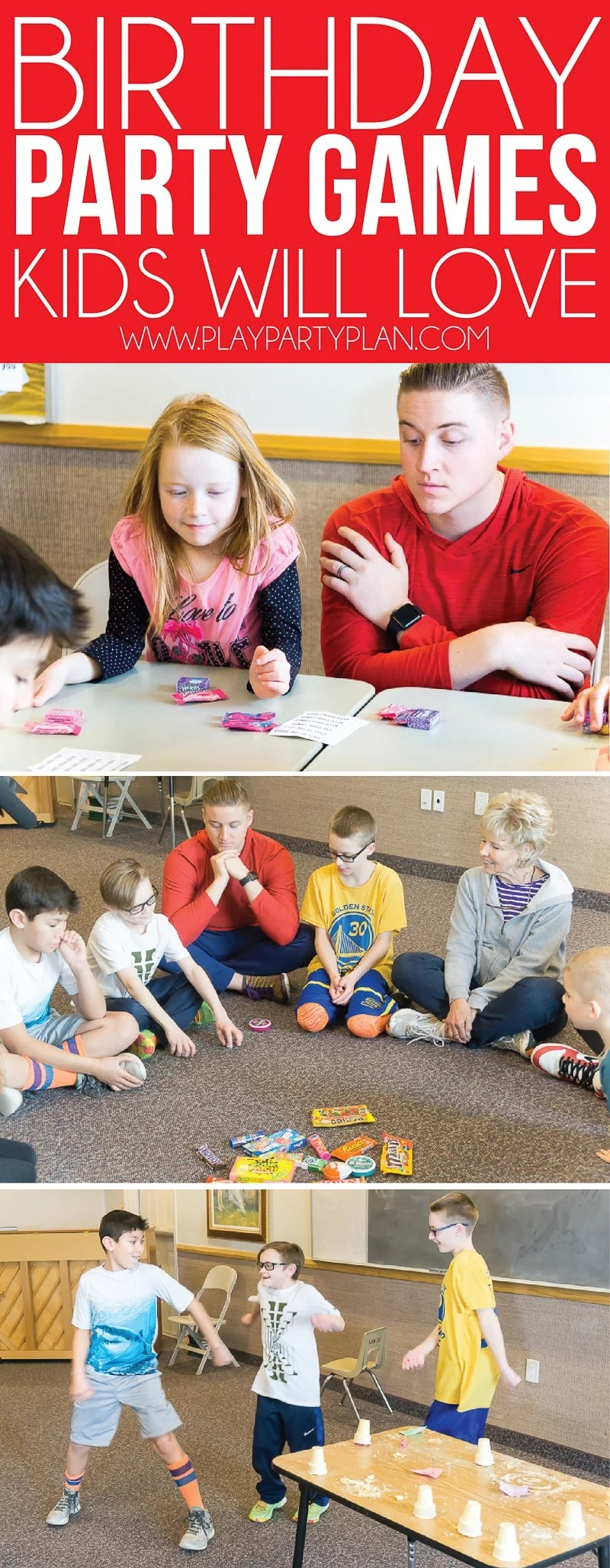 hilarious birthday party games