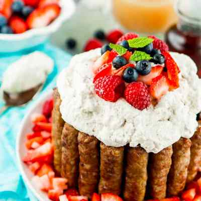 Sweet and Savory Breakfast Cake