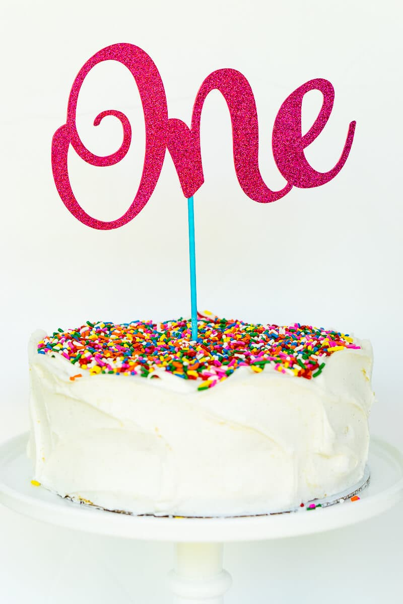 The Easiest Custom Birthday Cake Toppers Youll Ever Make