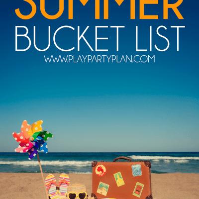 100+ Awesome Summer Bucket List Ideas