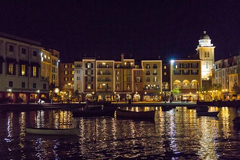 The nightlife is real at Loews Portofino Bay Hotel