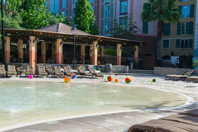 Enjoy a relaxing day by the pool at Loews Portofino Bay Hotel