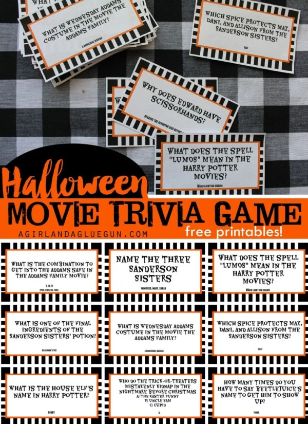 free halloween party games printables # 11