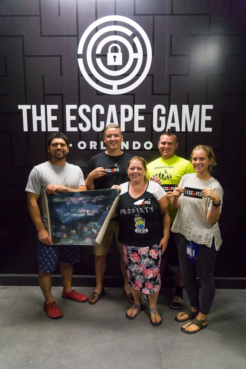 Try the Escape Game Orlando for one of the best escape games around