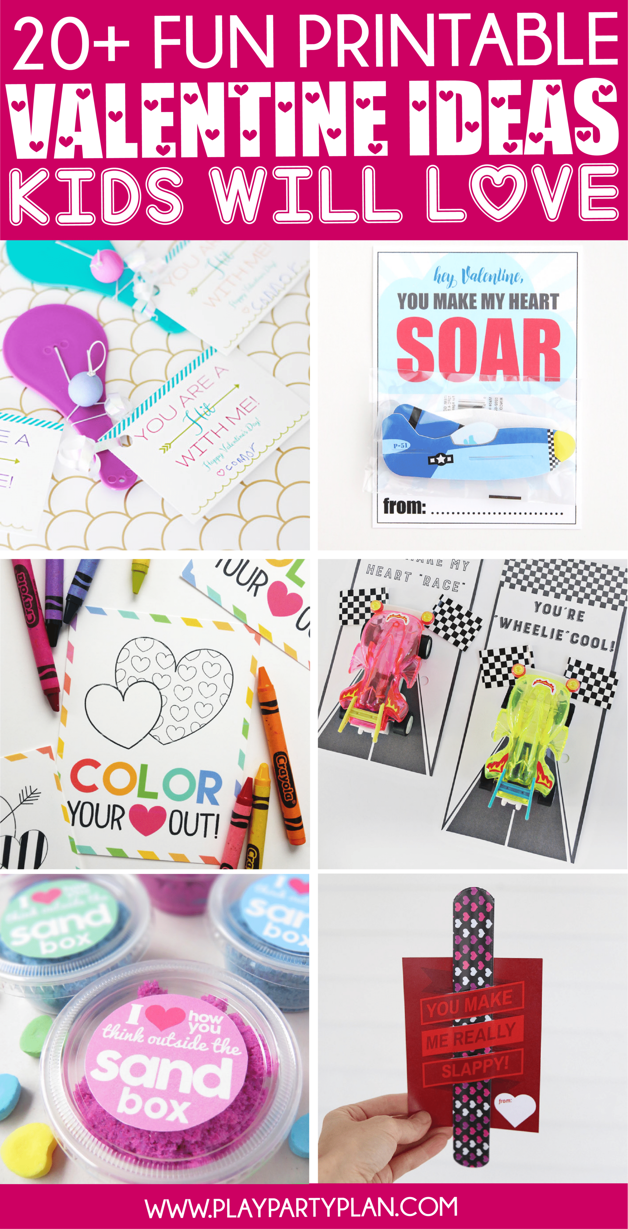 20 Fun Valentine S Day Cards For Kids