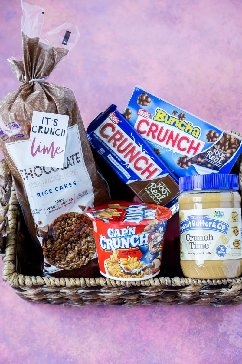 Fun gift basket ideas for college students or women