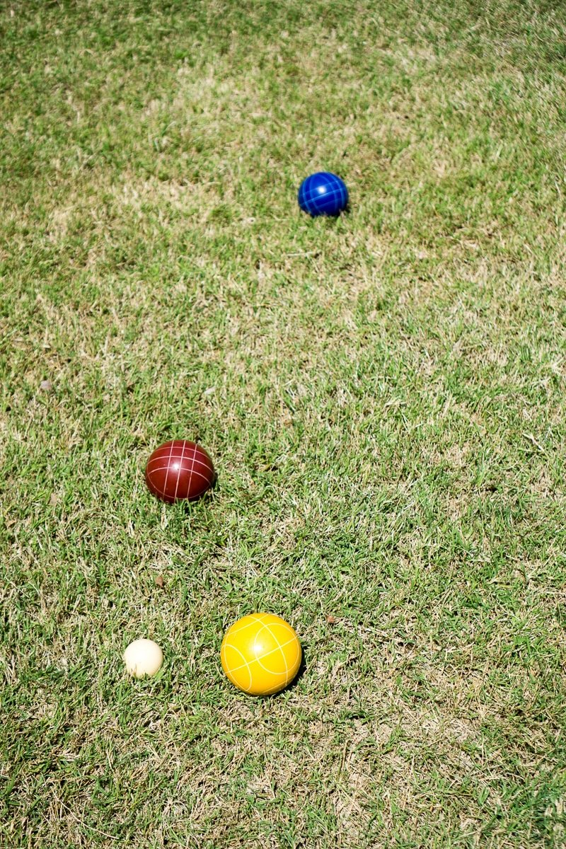 Bocce ball is one of the best outdoor games ever