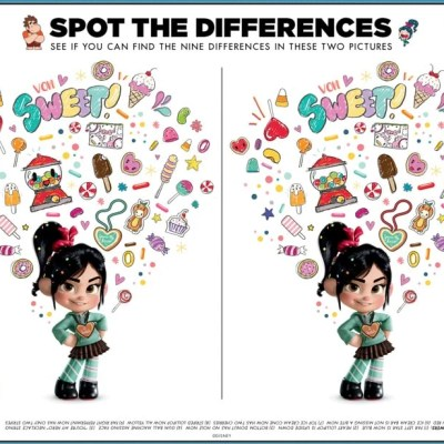 Ralph Breaks the Internet Coloring Pages & Activity Sheets