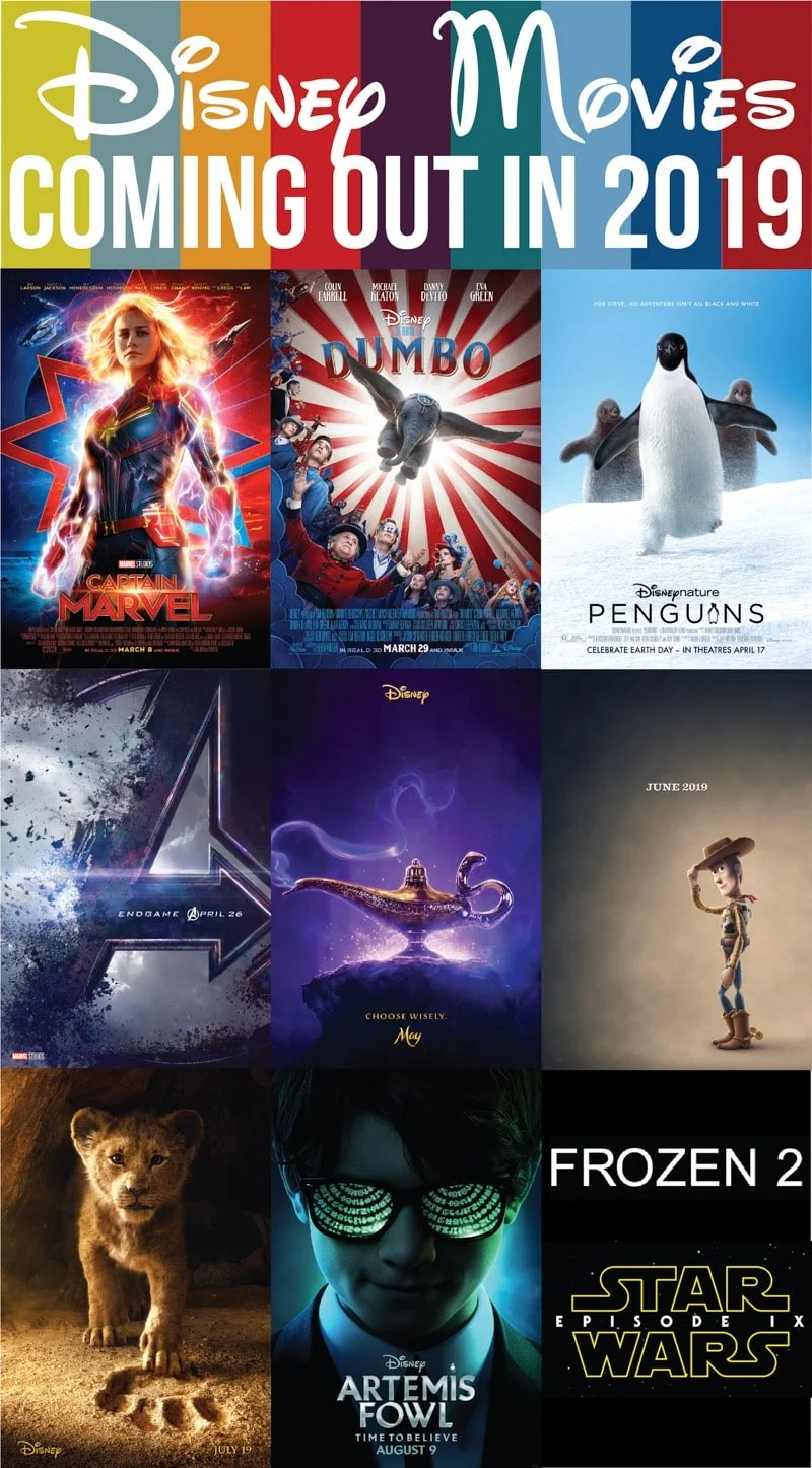 2019 Movies Out Now