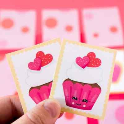 Free Printable Valentine's Day Memory Game