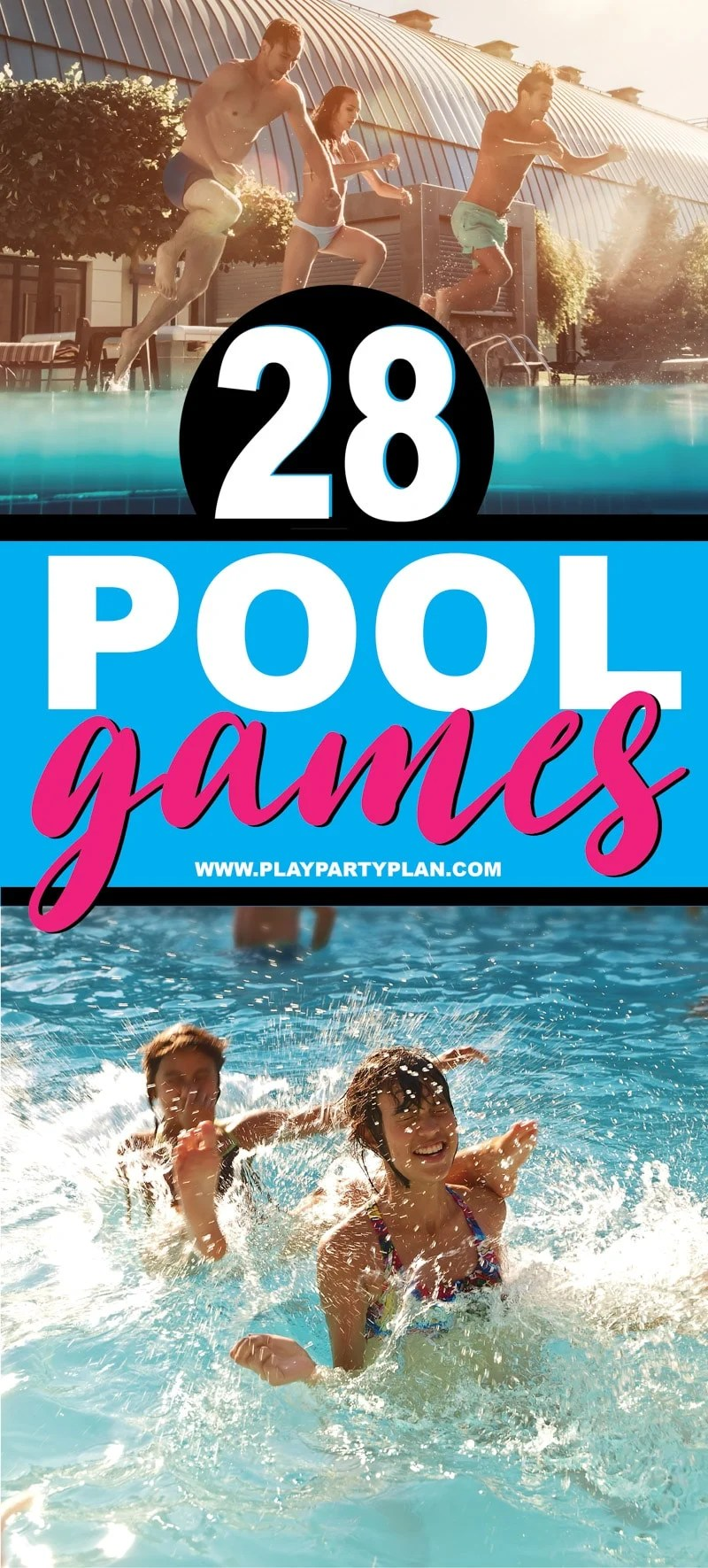 28 swimming pool games