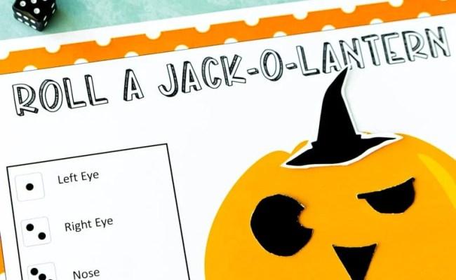 Free Printable Roll A Jack O Lantern Dice Game Play