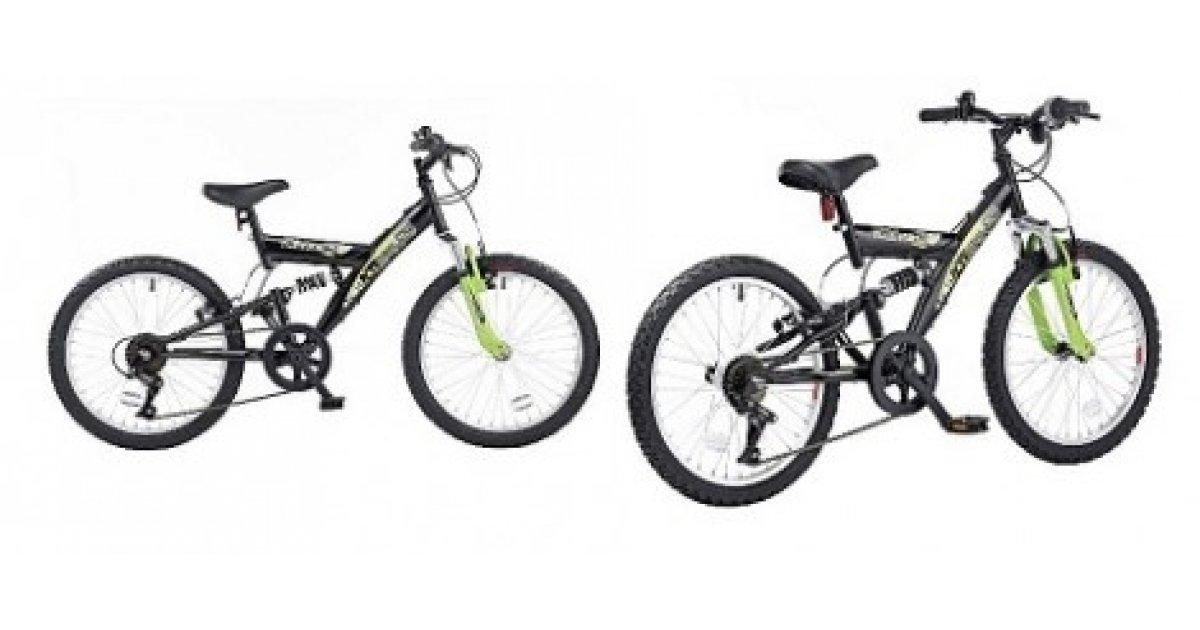 Boys Townsend Dual 20in Wheel Dual Suspension Bike £35 @ Asda