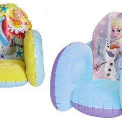 Argos Toddler Chair Seat Oversized Swivel Chairs For Living Room Frozen / In The Night Garden Inflatable Flocked £3.99 @