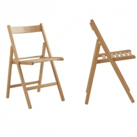 portable chairs argos small kitchen table and simple value wooden folding chair natural 11 or two for 16 50