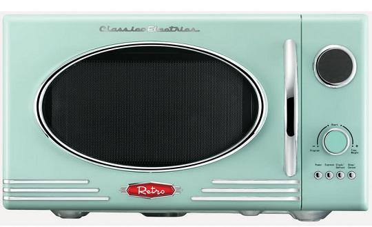 retro microwave 50 wilko