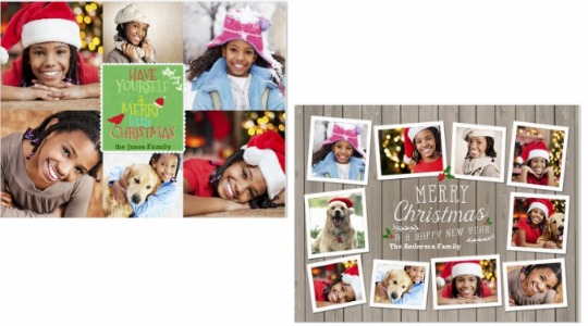 FREE 7x 5 Personalised Photo Christmas Card Snapfish