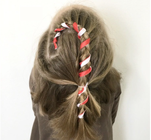 Christmas Hairstyles Easy.25 Christmas Hair Styles Easy Part Ct Hair Nail Design