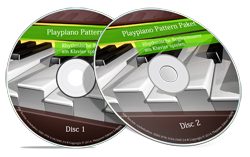 over 50 pattern videos from the Playpiano pattern package