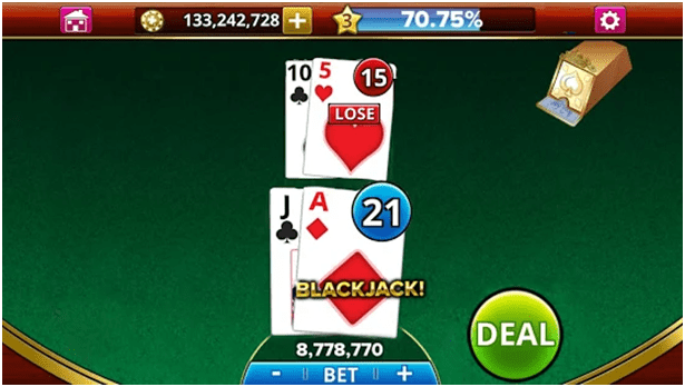 Blackjack Super Lucky Casino App