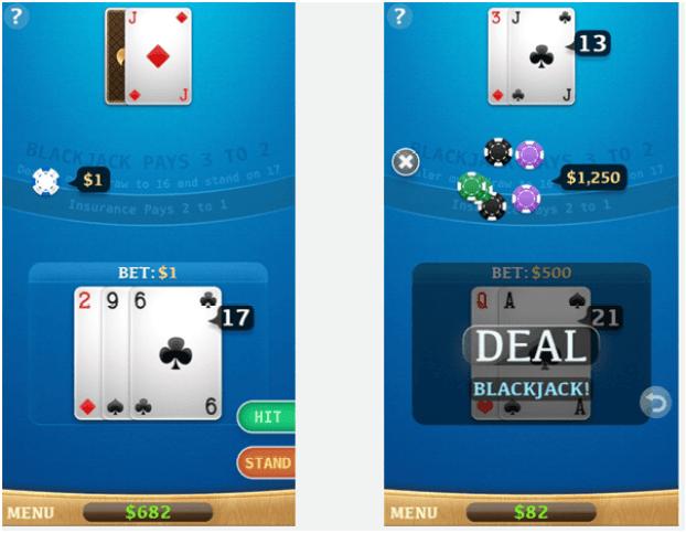 Play Pontoon- Blackjack App