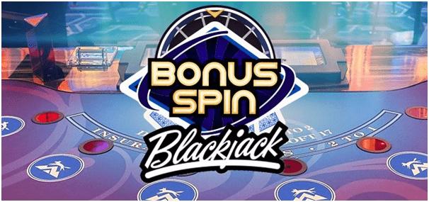 Bonus Spin Blackjack at Vegas