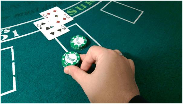 Double Down in Blackjack