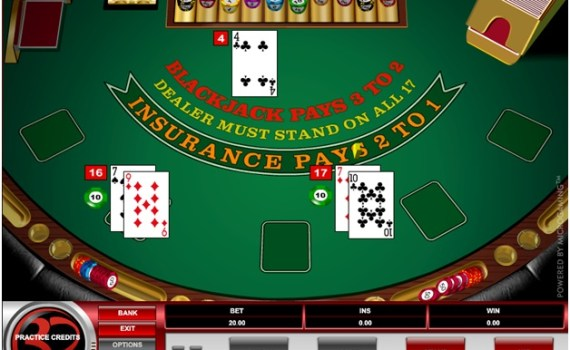 The best strategy to play European Blackjack