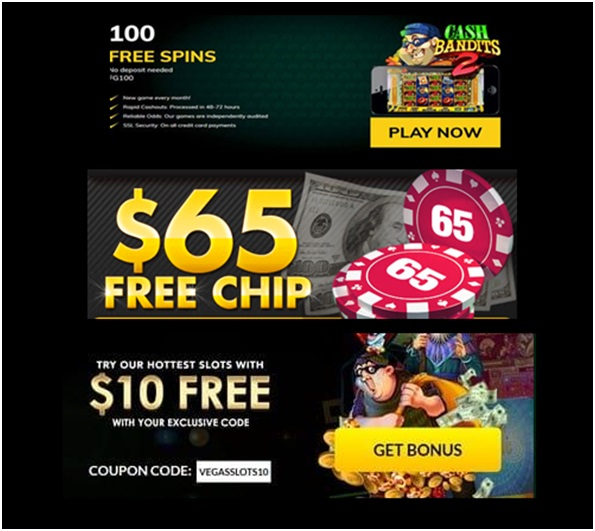 Free spins Free cash and free chips