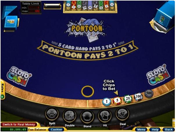 RTG Pontoon- Play online